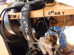 Ten Million Lights charting on Bagel Radio's CMJ charts at #3