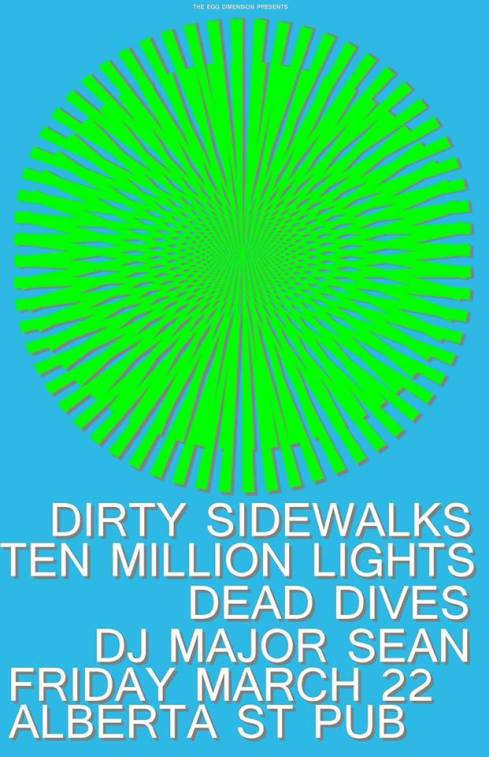 Ten Million Lights, Dirty Sidewalks, Dead Dives