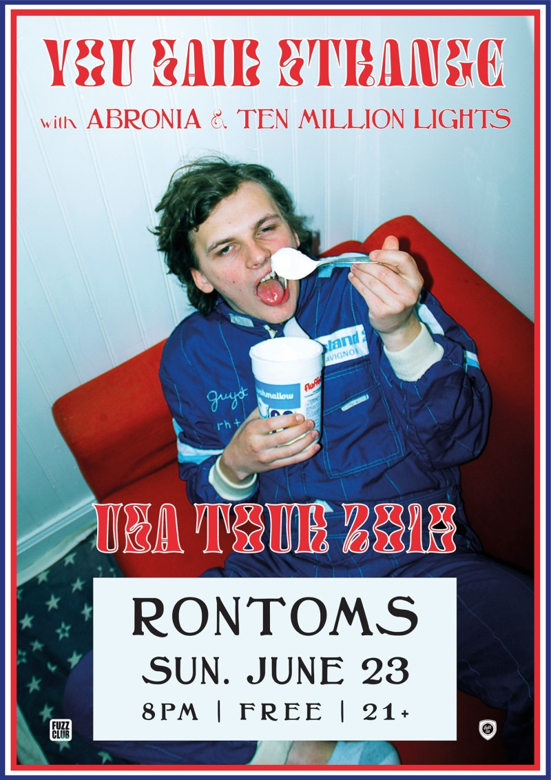 Ten Million Lights - Show poster Rontoms